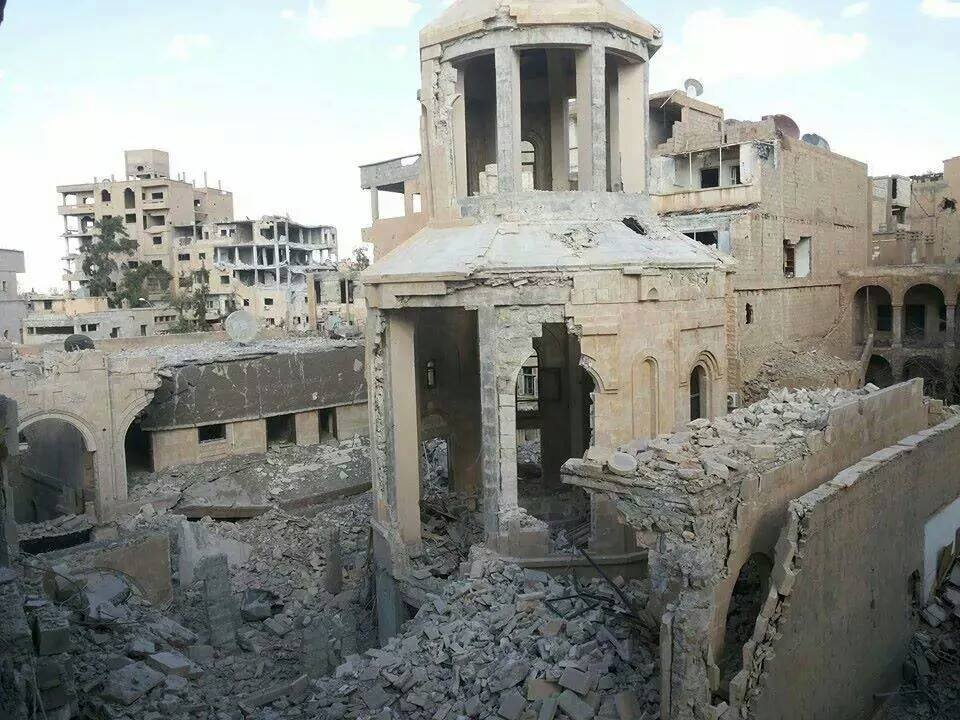 Church Dedicated To Memory of 1.5 Million Christian Genocide Victims Demolished by Islamists