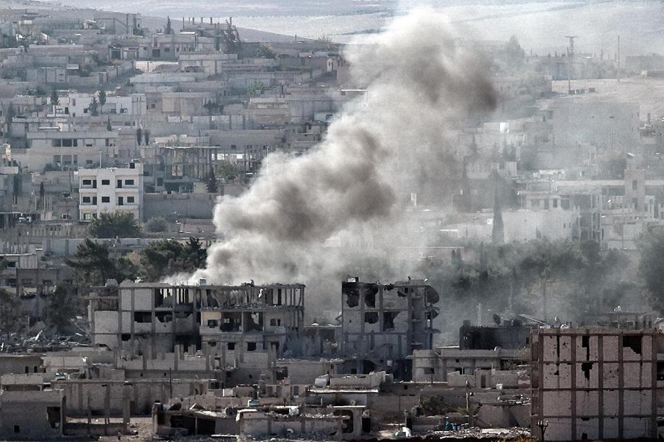 Syria Kurds 'Recapture' Areas of Kobane from IS
