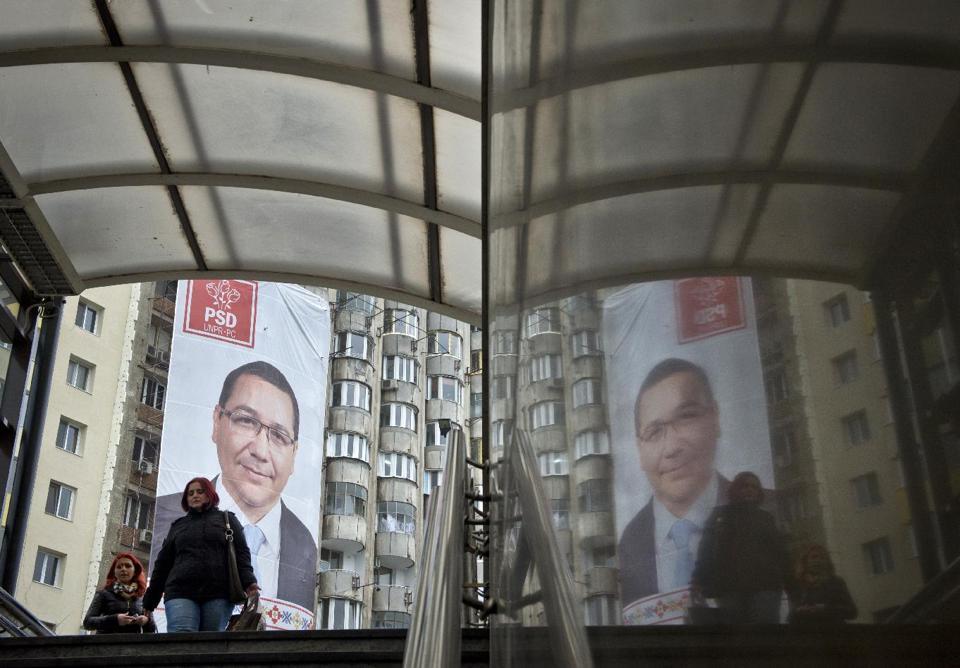 Romania's Ponta Favourite to Win Presidential Poll