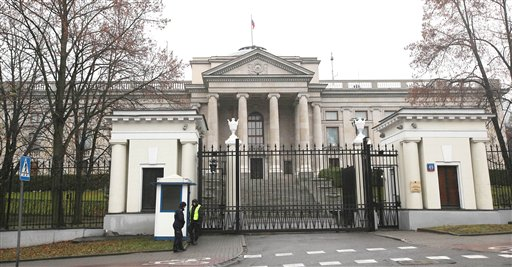 Poles, Russians Expel Diplomats over Spying