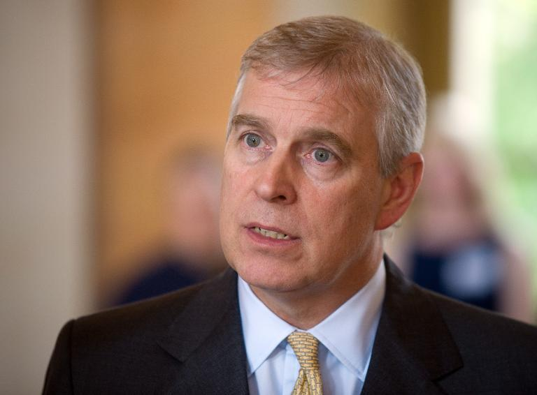Britain's Prince Andrew in Saudi to Reinforce Ties
