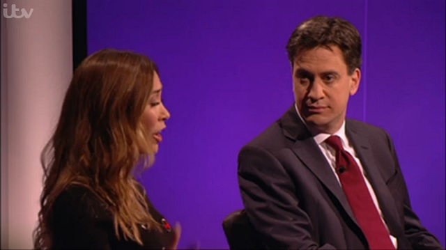 Leftists Try to Silence Myleene Klass after She Criticises Ed Miliband
