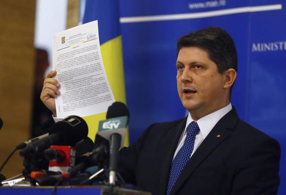 Romanian Foreign Minister Resigns in Election Row