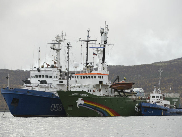 Spain Seizes Greenpeace Boat