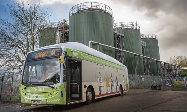 Britain's First Poo-Powered Bus Takes to the Road