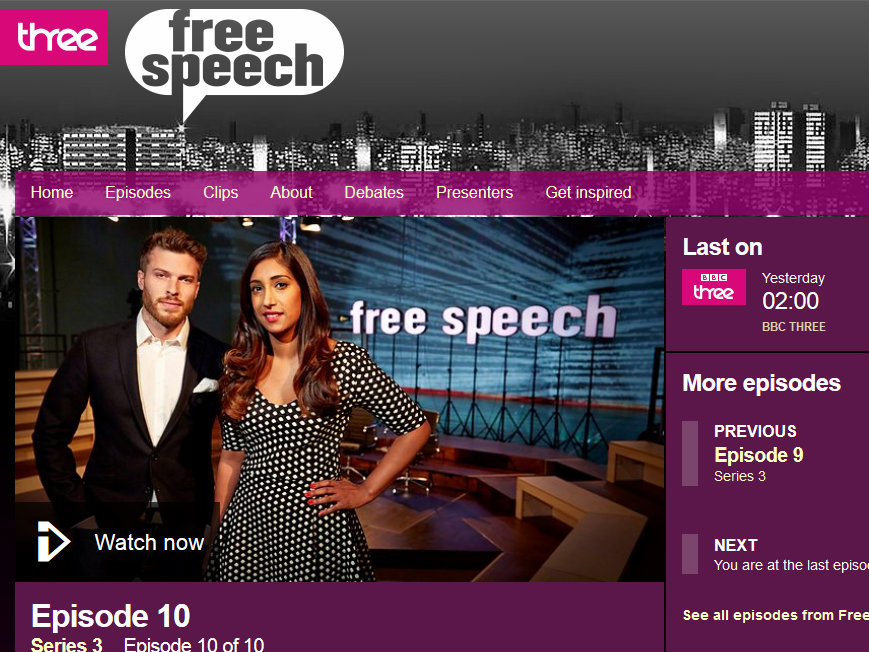 Free Speech is Dead in Britain – As I Learned on a BBC Debate Programme Called 'Free Speech'