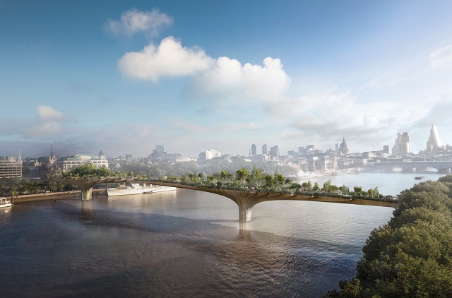 £60 Million Public Money For London Vanity Bridge That Serves 'No Practical Purpose'