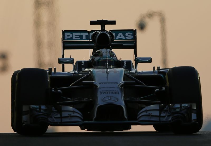 Hamilton Takes Second Title with Win in Abu Dhabi