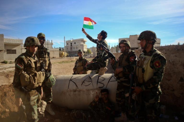 Two Britons 'Fighting Alongside Kurds against IS Group'