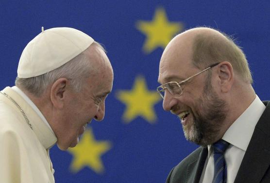 Pope Criticises Human Rights Legislation in Speech to European Parliament