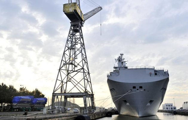 Conditions Not Right to Deliver Warship to Russia: France