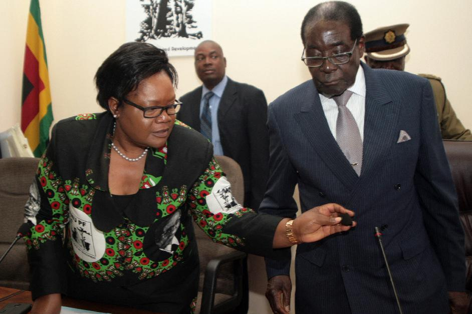Zimbabwe Vice President Ousted from Party Post in Succession War