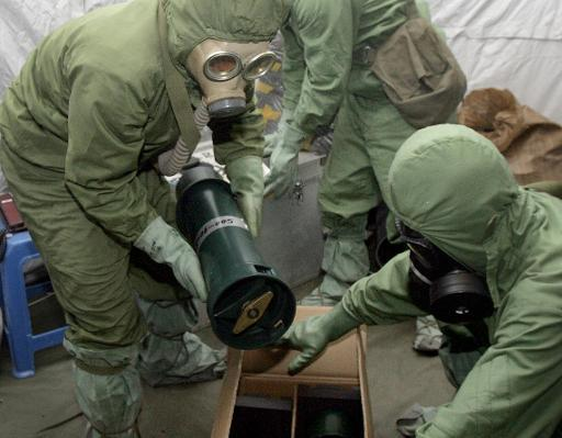 Japan Starts Chemical Weapon Destruction in China