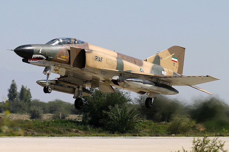 Iranian Fighter-Bombers Launch Air Strikes Against Islamic State