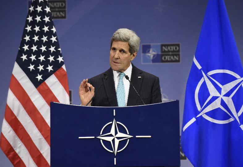 Kerry Hosts First anti-Islamic State Coalition Meeting