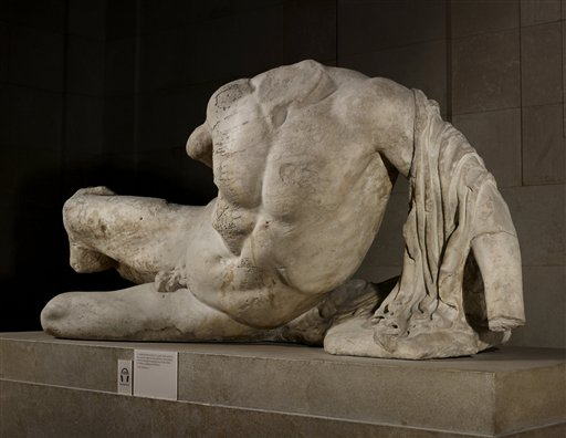 Greek PM Outraged by British Museum Sculpture Loan