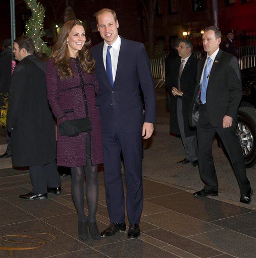 Royal Couple: Obama Visit, Child Development Tour