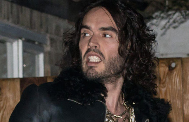 Russell Brand is a Shadow of his Former, Boisterous Self