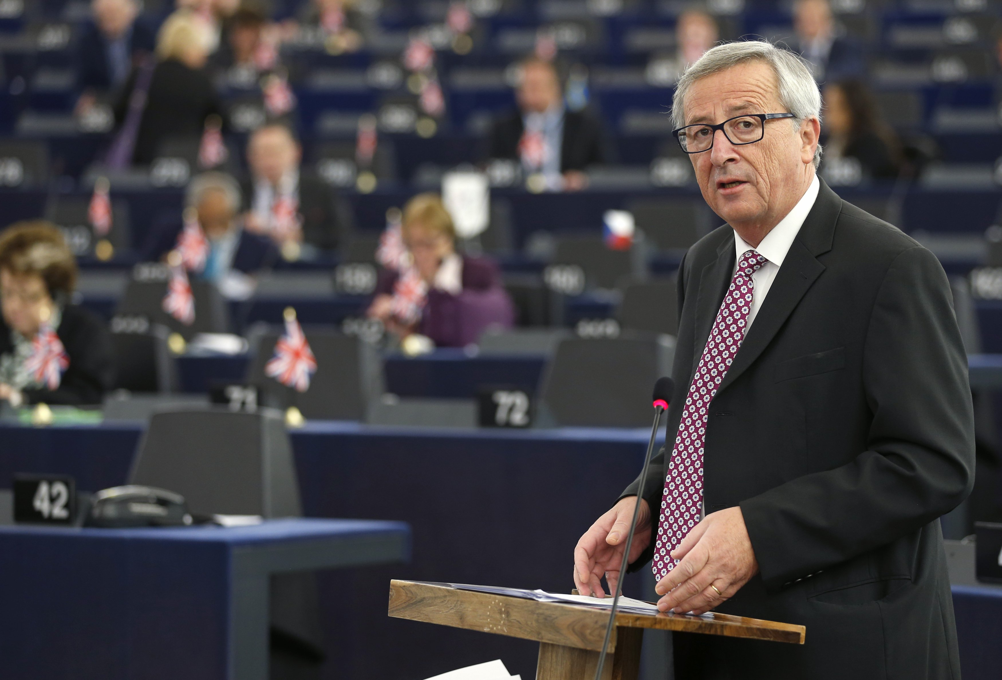 Don't Vote 'Wrong' Way, EU's Juncker Urges Greeks