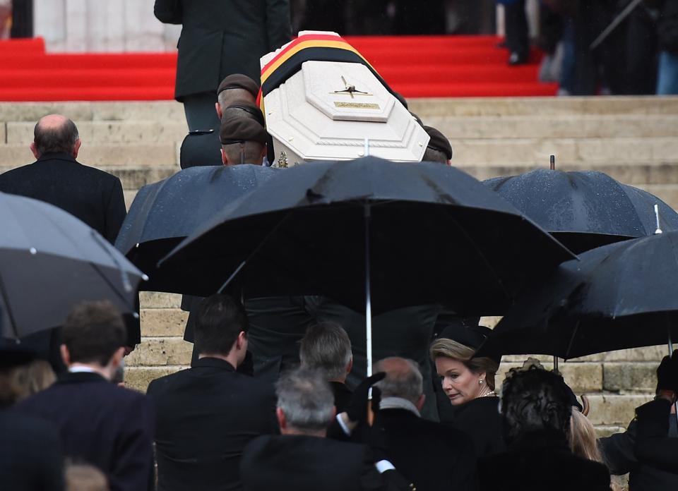 Belgian Queen Fabiola's Funeral Draws World Royalty