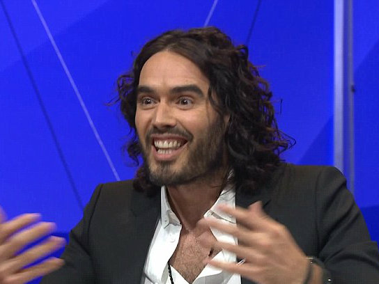 Russell Brand Was Terrified on Last Night's Question Time