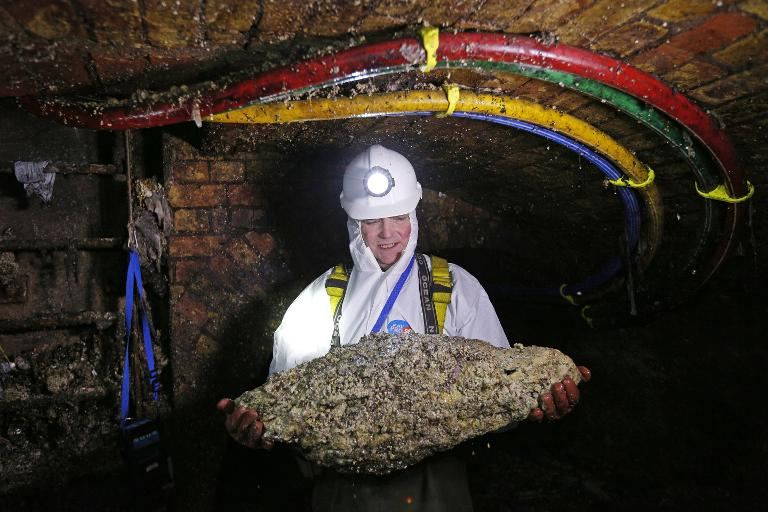 London Sewer Cleaners in 'Fatberg' Fightback