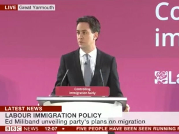 WATCH: New UKIP Video Mocks Ed Miliband's Immigration Speech