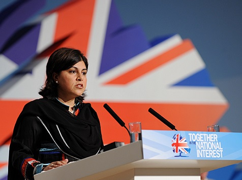 Young Tory Boss 'Ashamed' Of 'Terrorist Apologist' Former Party Chairman Warsi