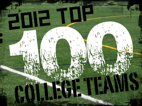 Top 100 College Teams of 2012