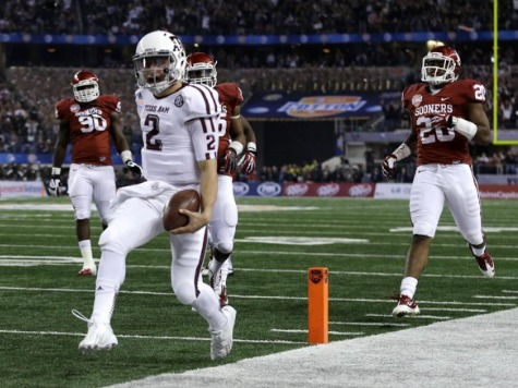 Speed Kills: Manziel Runs Past Oklahoma, Records; A&M Wrecks Sooners in Cotton Bowl