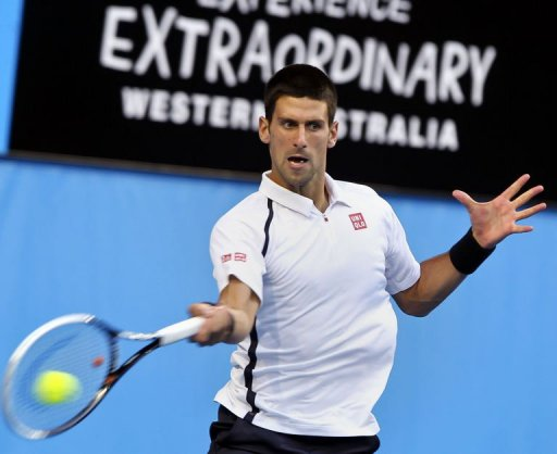 Djokovic up for Australian Open Challenge