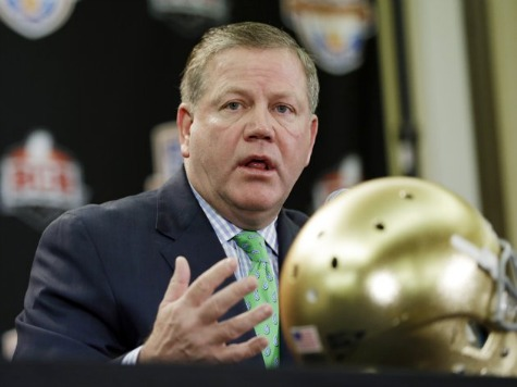Notre Dame Head Coach to Te'o: 'She's Dead'