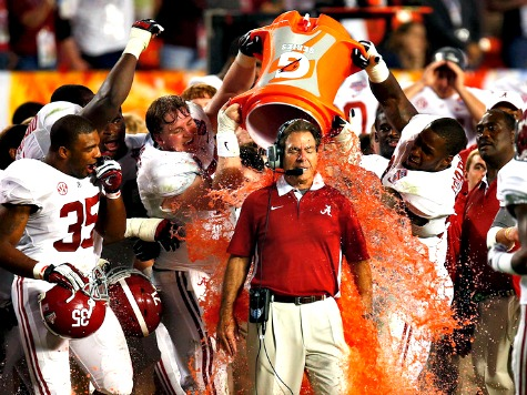 Alabama Finishes atop AP Poll for Record Ninth Time; Oregon No. 2 (Where Analytics Said Ducks Were Before the BCS Game)