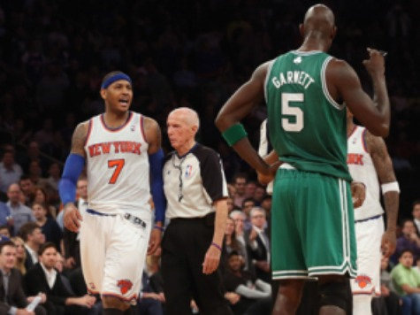 NBA Suspends Carmelo Anthony for One Game