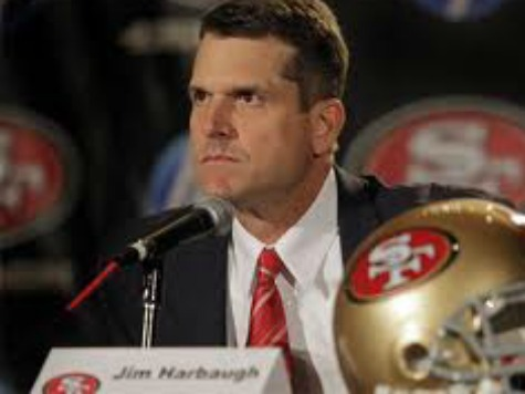 Report: 49ers Nearly Traded Coach Jim Harbaugh to Browns