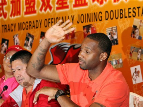 Chinese Basketball Association Suspends Tracy McGrady for Calling Referees Three 'Blind Mice'