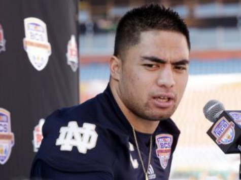 Te'o: I Lied About Having Met Girlfriend so People Didn't Think I was 'Some Crazy Dude'