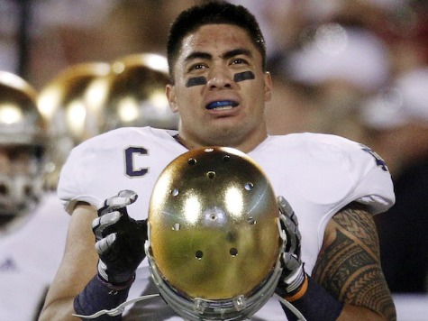 Te'o to Couric: I Lied After Getting Dec. 6 Phone Call