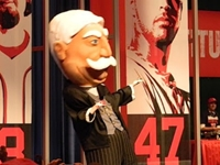 Nats Unveil William Howard Taft as Next Mascot
