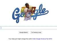 Google Celebrates Jackie Robinson's Birthday with Doodle