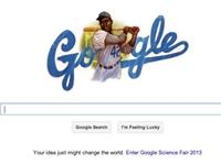 Google Celebrates Jackie Robinson's Birthday with Doodle