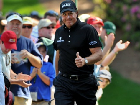 So Close! Mickelson Shoots 60, Nearly Breaks PGA Record