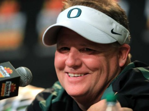 Report: Chip Kelly Staying at Oregon