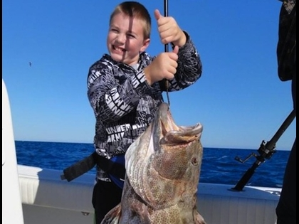 10-Year-Old Reels in World Record Fish