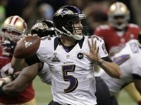 Ravens QB Flacco Wins Super Bowl MVP