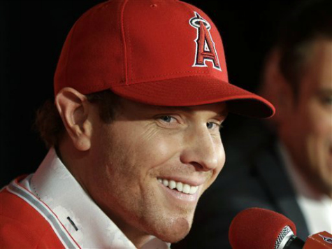 Hamilton Arrives, Helps Make Angels Early Favorites