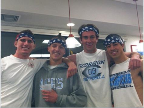 CA High School Disciplines Students for Wearing American Flag Bandanas, Chanting 'USA'