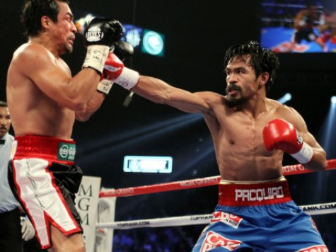High U.S. Tax Rate Forcing Boxer Manny Pacquiao to Consider Fighting Overseas