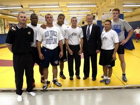 Rumsfeld: 'Kumbaya' Olympics Must Reinstate Wrestling