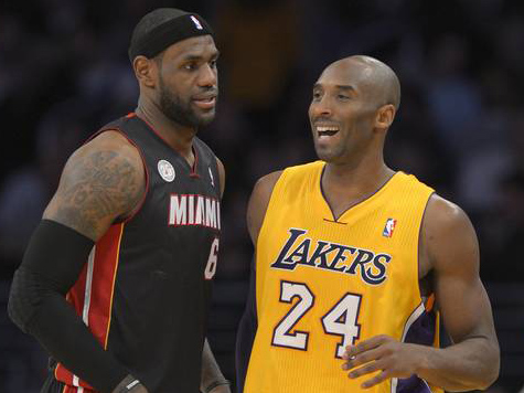 Kobe's Rejection of LeBron in Final Minutes Keys West All-Star Win